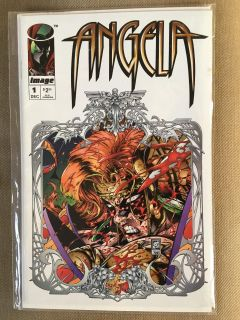 Angela #1 1994 image comics free shipping on all orders