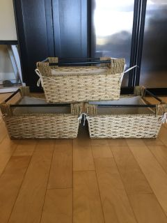 GUC lined baskets