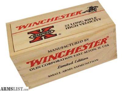 For Sale: Winchester Super X 22lr Gift Box