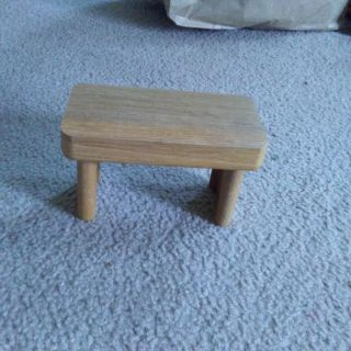 Sm. Wooden shelf bench/table