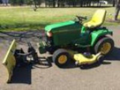 JOHN DEER LAWN TRACTOR Includes quot way Hydraulic snow
