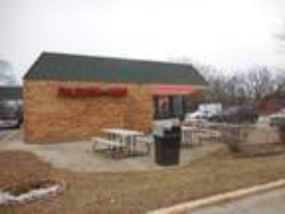 Freestanding quick service restaurant with drive thru available on busy Sheridan