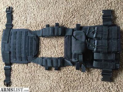For Sale: Body armor, plate carrier, chest holster, mags and pouches