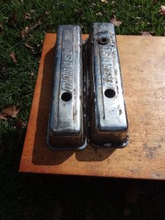 Moroso Tall small block chevy valve covers