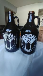 Great deal for brewery fans! 2 Growler bottles