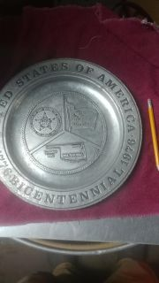 Old collectible plate