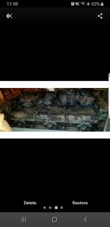 2 and 3 seater floral sofas