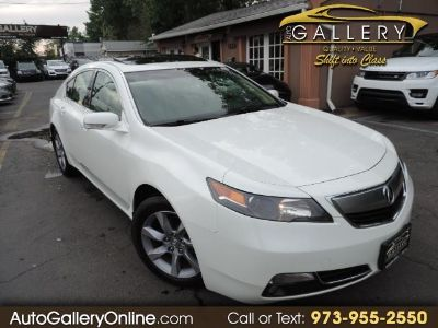 2012 Acura TL w/ Technology Package (White Pearl)
