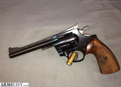 "For Sale: KORTH SERIES 22 1967 6"" .38 SPL SPECIAL TARGET REVOLVER 1 of 16 EVER MADE W/ VENTILATED RIB"