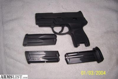 For Sale: sig sauer p250 subcompact