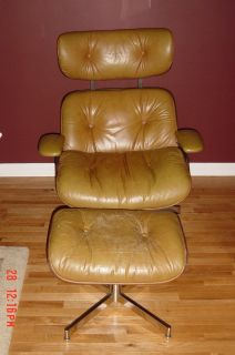 1960's-70's Plycraft lounge chair with Ottoman