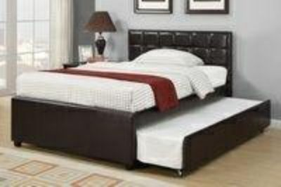 Full Twin trundle bed with 2 mattress