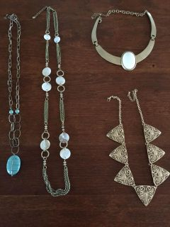 Assorted Necklaces $3 each or all 4 for $10