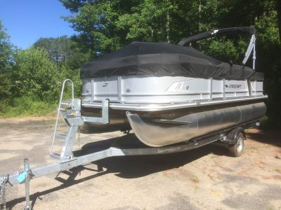 2018 Starcraft EX 20 CF Pontoon Boats Watercraft Littleton, NH