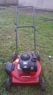 $80, murray 22 gas powered lawn mower