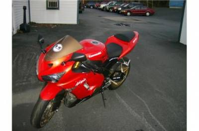2005 Kawasaki ZX636C1 ORANGE Ellsworth
