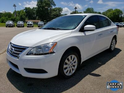 2015 Nissan Sentra S (Fresh Powder)