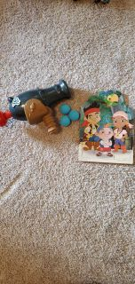 Jake and the Neverland Pirates Cannon and Puzzle
