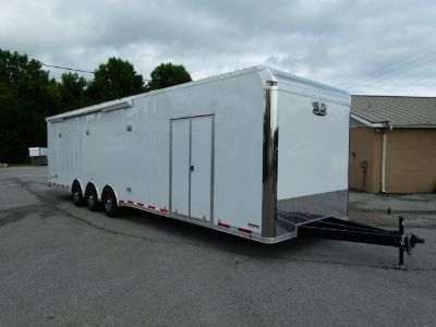 2018 34' VINTAGE PROSTOCK BATHROOM TRAILER