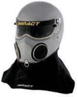 Sell IMPACT RACING 18099508 NITRO HELMET LARGE SILVER SA2010 motorcycle in Moline, Illinois, US, for US $749.99