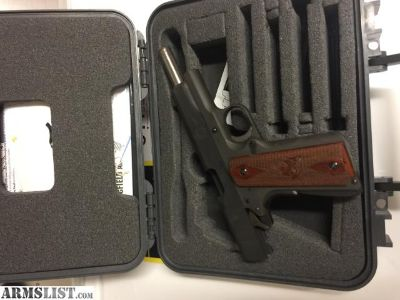For Sale: Springfiled 1911-A1 with white dot sights