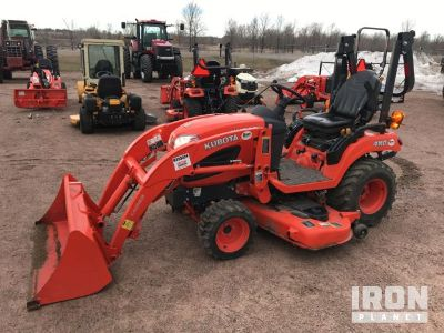 2014 Kubota BX2370 4WD Utility Tractor