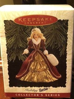 Hallmark keepsake ornament holiday Barbie collector series