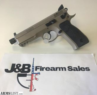 For Sale: CZ 75 SP-01 Suppressor Ready Urban Grey