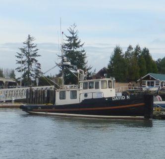45' Custom Tug Boat 1930