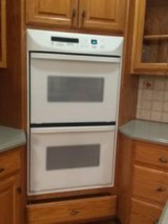 kitchen aide double oven
