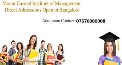 Admission in Mount Carmel College Bangalore