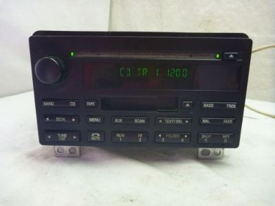 Find 03 04 05 Ford Expedition Radio Cd Cassette Player 5L1T-18C868-AC BF 613 motorcycle in Williamson, Georgia, United States, for US $165.00