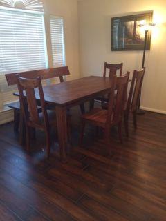 Brazilian Wood Dining Table