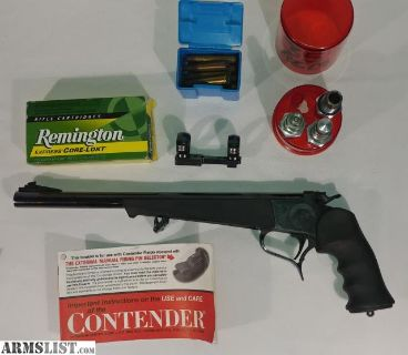 For Sale/Trade: Thompson Center Contender 35 Rem
