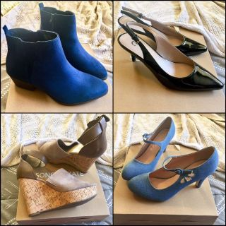 Bundle: Four Pairs Size 9 Shoes New w/o Boxes