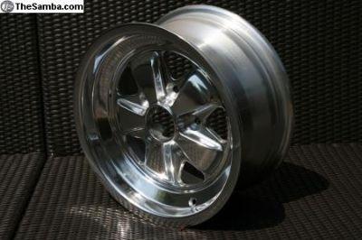 "NEW Polished Fuchs Replica Wheels 15-16"""