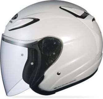 Buy Kabuto Avand II Open Face Motorcycle Helmet Solid Pearl White motorcycle in Hinckley, Ohio, United States, for US $139.95