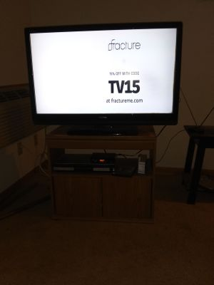 "Tobisha 42"" flat screen tv"