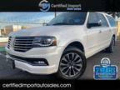 2015 Lincoln Navigator Base Sport Utility 4-Door