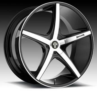 "Buy 22"" Dub Rio 5 Wheels Rims Fits Mercedes S63 S65 GLA250 GLA45 / Fits Audi Q5 Q7 motorcycle in La Puente, California, United States, for US $1,398.00"