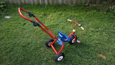 RADIO FLYER FAT TIRE TRIKE WITH REAR STEERING WHITBY ONTARIO