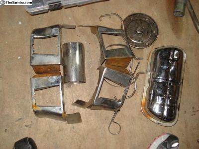 Various Chrome Engine Tin