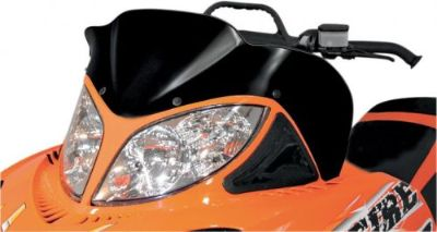 """Find POWERMADD/COBRA 12810 WINDSHIELD 14"""" BLK ARC motorcycle in Plymouth, Michigan, United States, for US $87.35"""