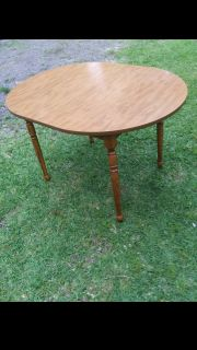 Maple Finish Dining Table