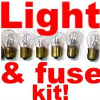 Find 60 bulbs, fuse kit for Mustang, Thunderbird 1982 - 1997 Replace Dim Light Bulbs motorcycle in Duluth, Minnesota, United States, for US $24.99