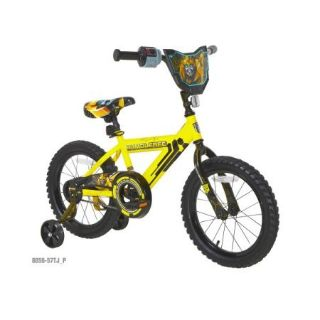 """Boys 16"""" Tranformers Bumblebee Bicycle - Like New, Excellent Condition!!"""