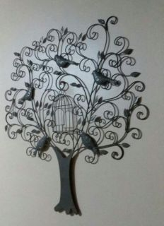 WROUGHT IRON WALL DECOR.....NEW CONDITION