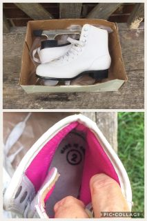 Girls Ice Skates, size 2, excellent condition **READ PICK-UP DETAILS BELOW