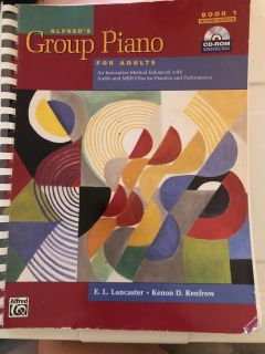 Alfred s Group Piano for Adults Book 1 & CD-ROM