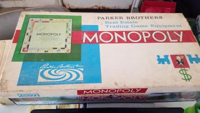 1960 Monopoly Real Estate Trading Game